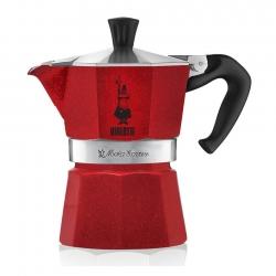 Bialetti Moka Express 6 kopp Röd Espresso Kaffebryggare