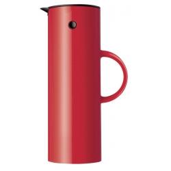 Stelton EM77 termoskanna 1 l. - röd
