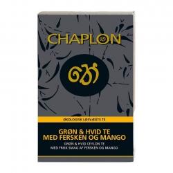 Chaplon Vit och Grön Te m. Persikor och Mango Refill 100g