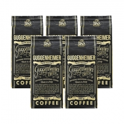 Guggenheimer Coffee Supreme 5x250g - Förmalet