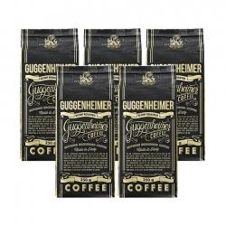 Guggenheimer Coffee Supreme 5x250g - Malet kaffe