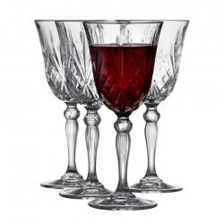 Lyngby Melodia Rödvinsglas 4 st