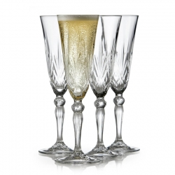 Lyngby Melodia Champagneglas 4 st