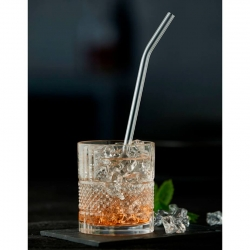 Lyngby Glas Sugrör 21,5cm - 6 st