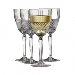 Lyngby Brillante Vitvinsglas 4 st 23cl