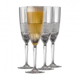 Lyngby Brillante Champagneglas 4 st 19cl