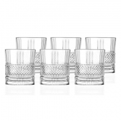 Lyngby Brillante Whiskyglas 6 st 34cl