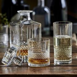 Lyngby Brillante Whiskyset Kristall