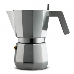 Alessi Moka Induction Espressokanna 9 Kopp.