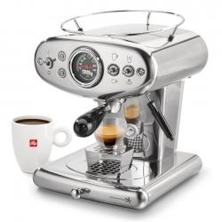 Illy X1 Kapsel-espressomaskin Stål