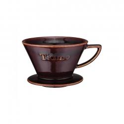 Espresso Gear Tiamo Dripper m. flat botten, brun