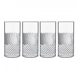 Luigi Bormioli Diamante Ölglas/Longdrinkglas 4 st 48cl