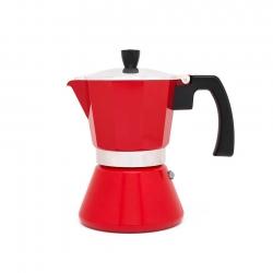 Bredemeijer Tivoli Espressokanna Röd 6 Kopp