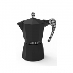G.A.T Fashion Pied De Poul Espressokanna Svart 3 kopp