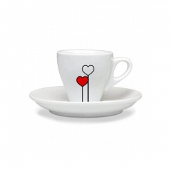 Ascaso Love Espressokoppar 6 st