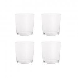 Aida RAW Vattenglas 4 st 0,37L Klar