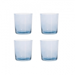Aida RAW Vattenglas 4 st 0,37L Blå