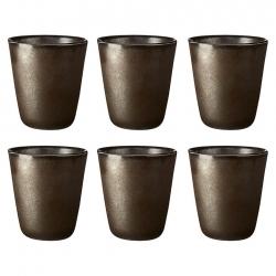 Aida RAW Termomugg 0,25L 6 st Metallic Brown