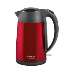 Bosch Vattenkokare TWK3P424 DesignLine 1.7L Röd