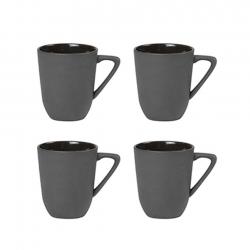 Nudge Espressokoppar 4 st 0,08L Svart