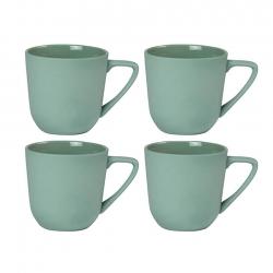 Nudge Mugg med Handtag 4 st 0,25L Grön