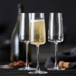 Lyngby Zero Champagneglas 30 cl 4 st