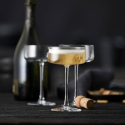 Lyngby Zero Champagneskål 26 cl 4 st
