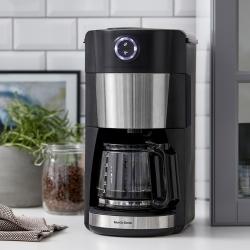 Nordic Sense Kaffebryggare med Kvarn Svart