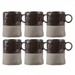 Villa Collection Mugg 0,30L 6 st Anthracite