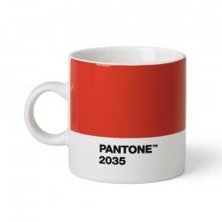 Pantone Espressomugg 0,12L Röd