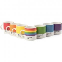 Pantone Espressomugg 0,12L Pride Sett 7 st