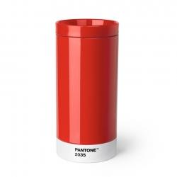 Pantone To Go Mugg 0,43L Röd