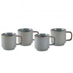 Villa Collection Espressomugg 0,12L 4 st Blå/grå