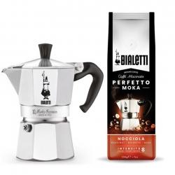 Bialetti Moka Express 6 Koppar Kaffeset