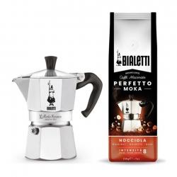 Bialetti Moka Express 3 Koppar Kaffeset