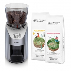 Nivona Cafe Grano 130 Kaffekvarn Inkl. 1kg Kaffe