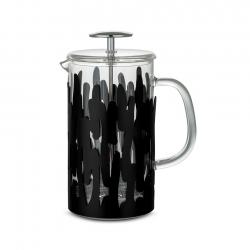Alessi Barkoffee Kaffepress Svart 8 Koppar