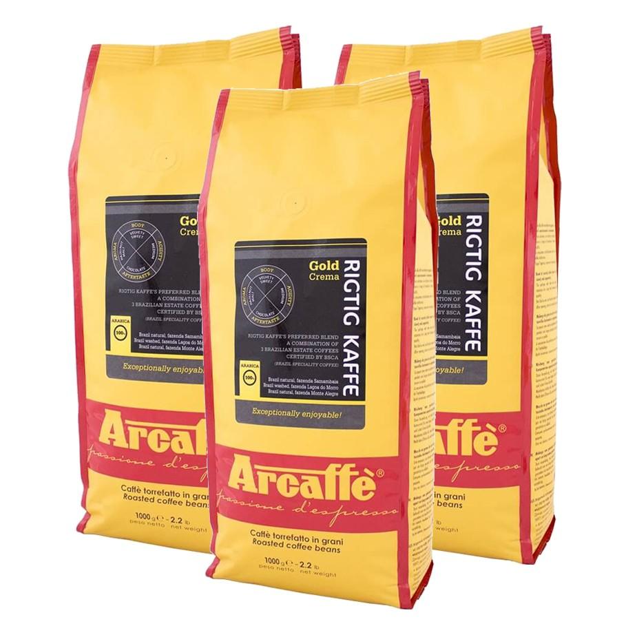 Arcaffe Rigtig Kaffe Gold Crema 1kg