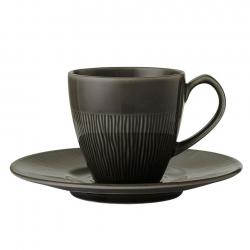 Colormix Kopp m. kaffefat 20cl 6 st Antracitgrå
