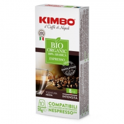 Kimbo Bio Organic Kaffekapslar 10 st