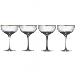 Lyngby Palermo Gold Cocktailglas 31,5 cl 4 st
