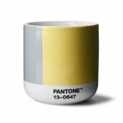Pantone Cortado Termomugg 0,19L Grå/Gul