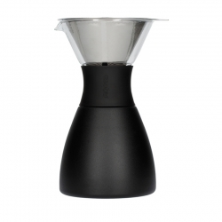 Asobu Isolerad Pour Over Kaffebryggare Svart