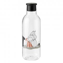 RIG-TIG Drink-It Vattenflaska 0,75 L Svart Moomin
