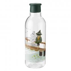 RIG-TIG Drink-It Vattenflaska 0,75L Dark Green Moomin