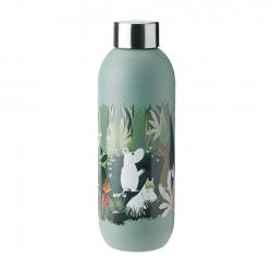 Stelton Keep Cool Vattenflaska 0,75 L Moomin Dusty Green