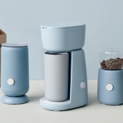RIG-TIG Foodie Mjölkskummare Ljusblå