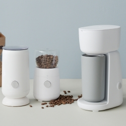 RIG-TIG Foodie Elektrisk Kaffekvarn Vit