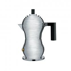 Alessi Pulcina Espressokanna Svart 1 Kopp
