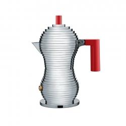 Alessi Pulcina Espressokanns Röd 1 Kopp